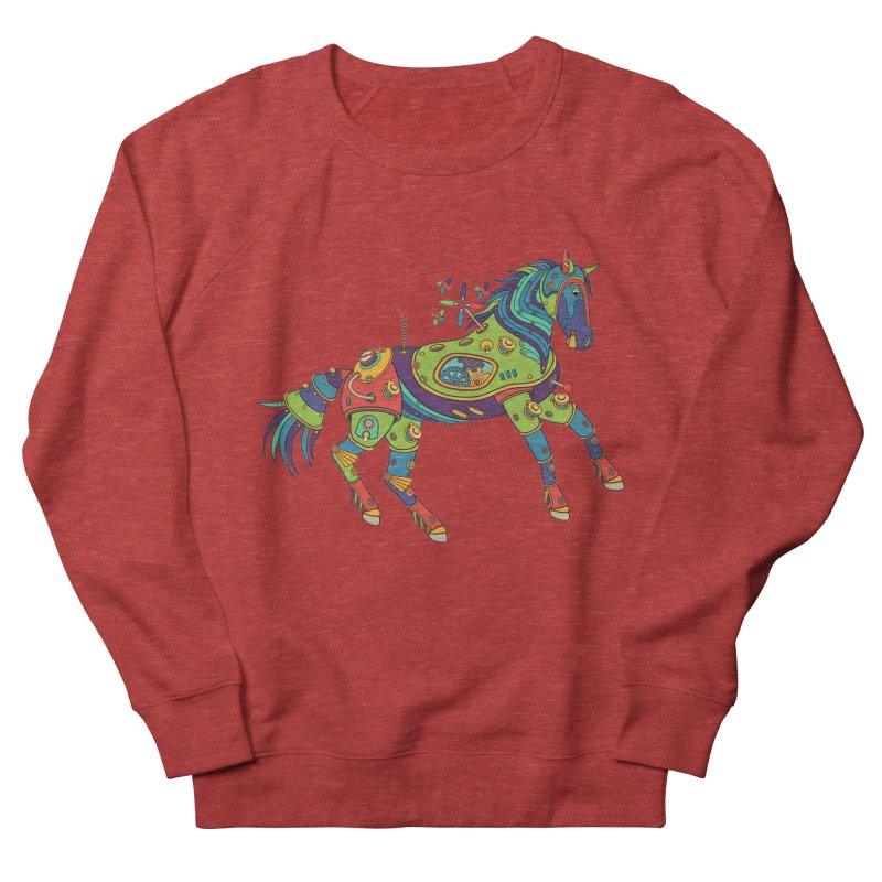 Horse, cool art from the AlphaPod Collection Men's Sweatshirt by AlphaPod