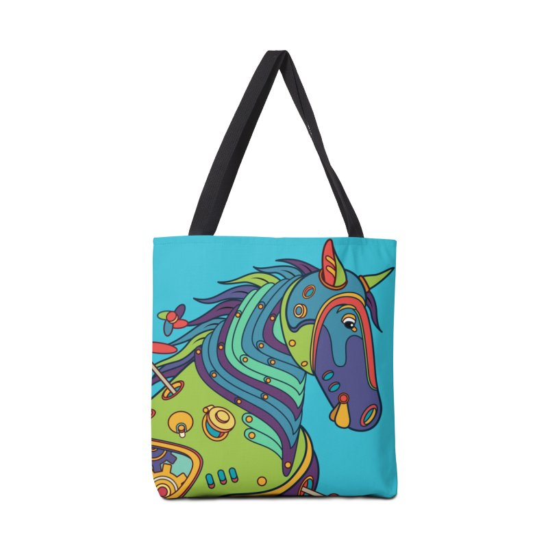 Horse, cool wall art for kids and adults alike Accessories Bag by AlphaPod