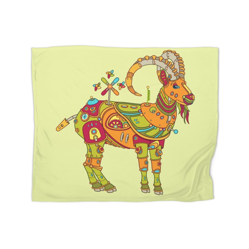 Ibex, cool art from the AlphaPod Collection Home Blanket by AlphaPod