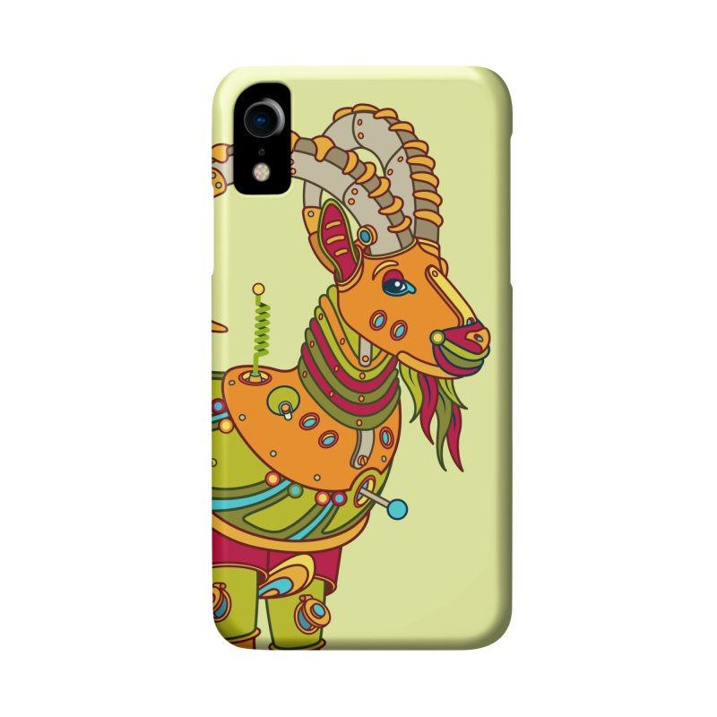 Ibex, cool art from the AlphaPod Collection Accessories Phone Case by AlphaPod