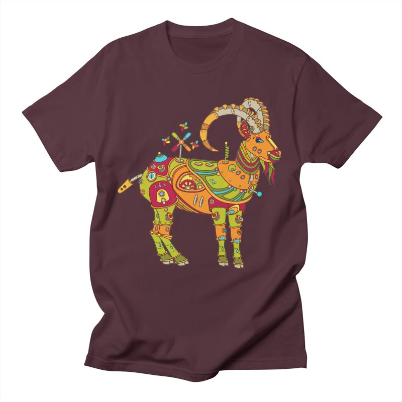 Ibex, cool art from the AlphaPod Collection Men's T-Shirt by AlphaPod