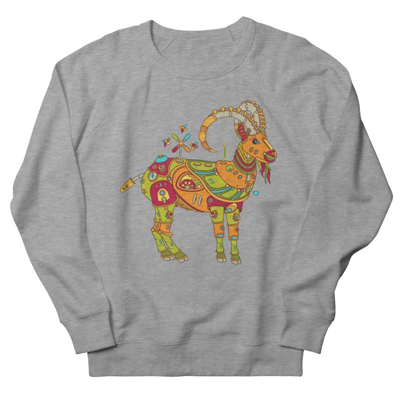 Ibex, cool art from the AlphaPod Collection Women's Sweatshirt by AlphaPod