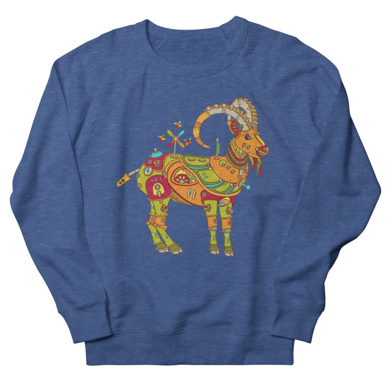 Ibex, cool art from the AlphaPod Collection Men's Sweatshirt by AlphaPod