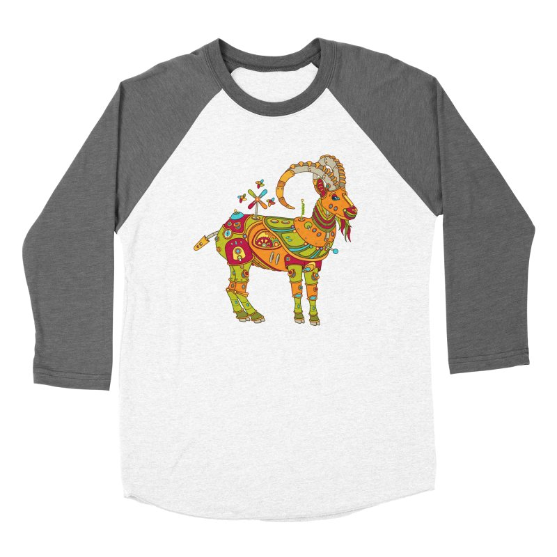 Ibex, cool art from the AlphaPod Collection Women's Longsleeve T-Shirt by AlphaPod