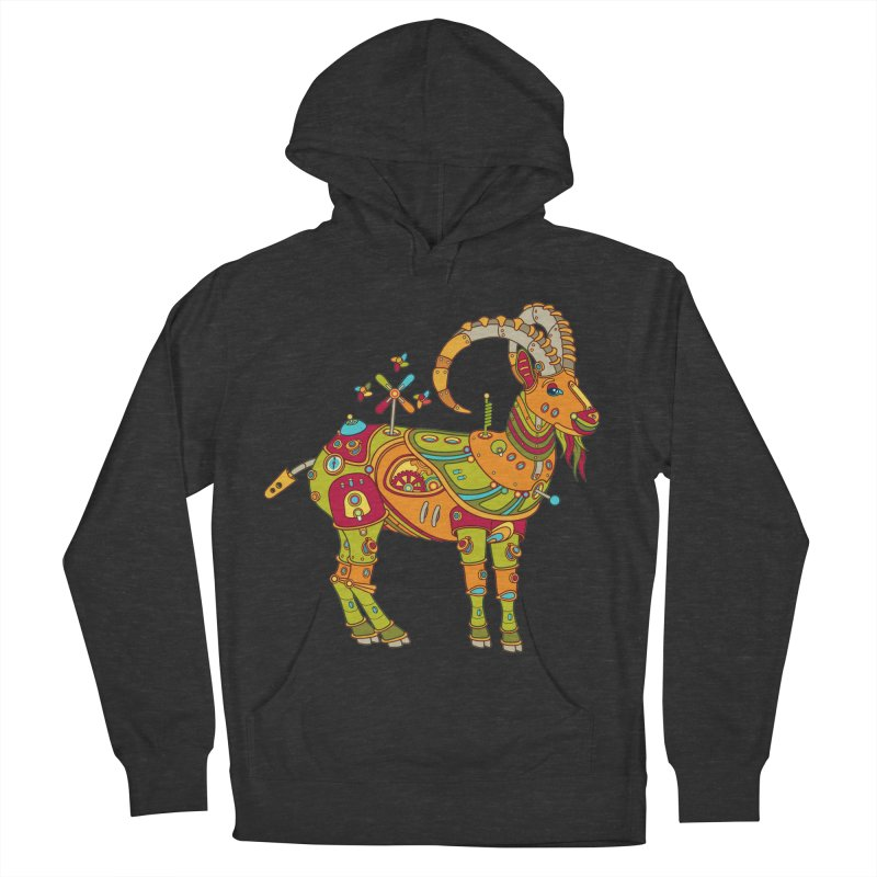 Ibex, cool art from the AlphaPod Collection Women's Pullover Hoody by AlphaPod