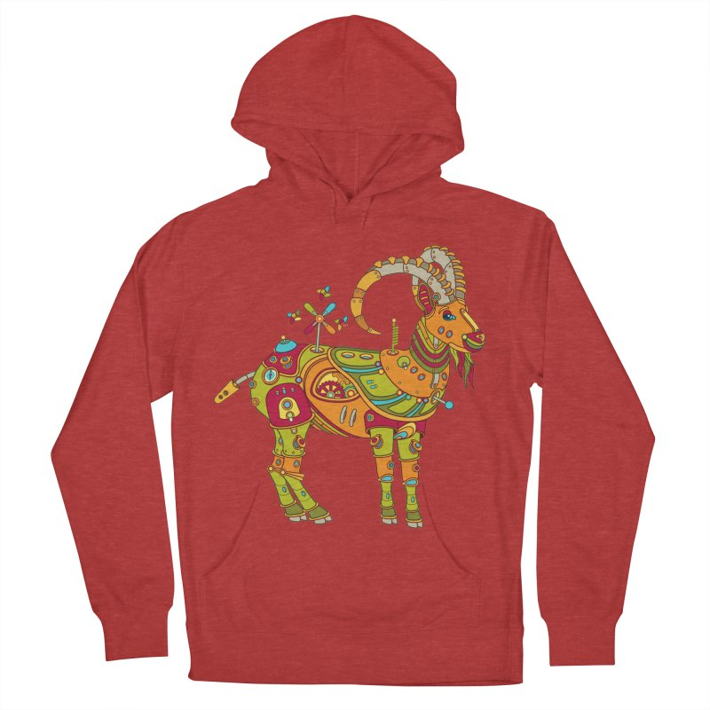 Ibex, cool art from the AlphaPod Collection Men's Pullover Hoody by AlphaPod
