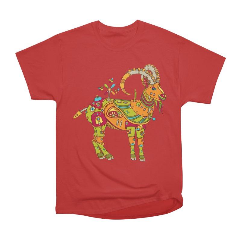 Ibex, cool art from the AlphaPod Collection Men's Heavyweight T-Shirt by AlphaPod