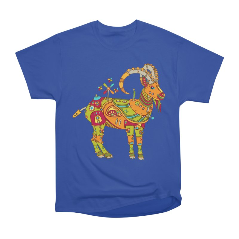 Ibex, cool art from the AlphaPod Collection Men's Heavyweight T-Shirt by AlphaPod