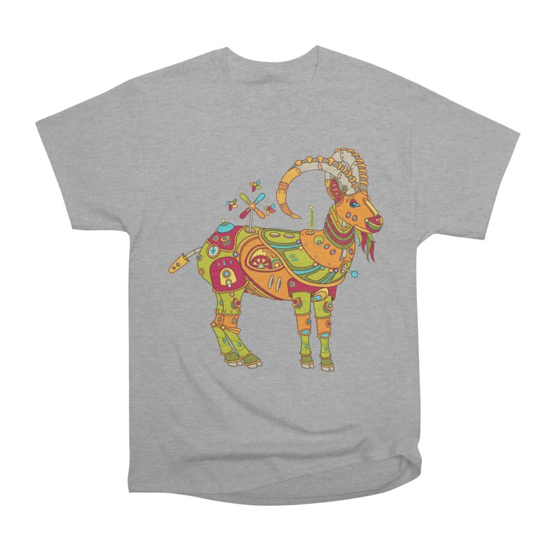 Ibex, cool art from the AlphaPod Collection Men's Classic T-Shirt by AlphaPod