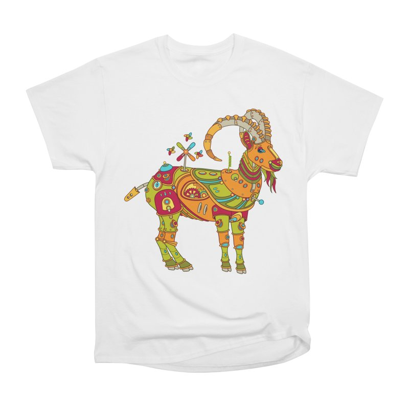 Ibex, cool art from the AlphaPod Collection Women's Heavyweight Unisex T-Shirt by AlphaPod
