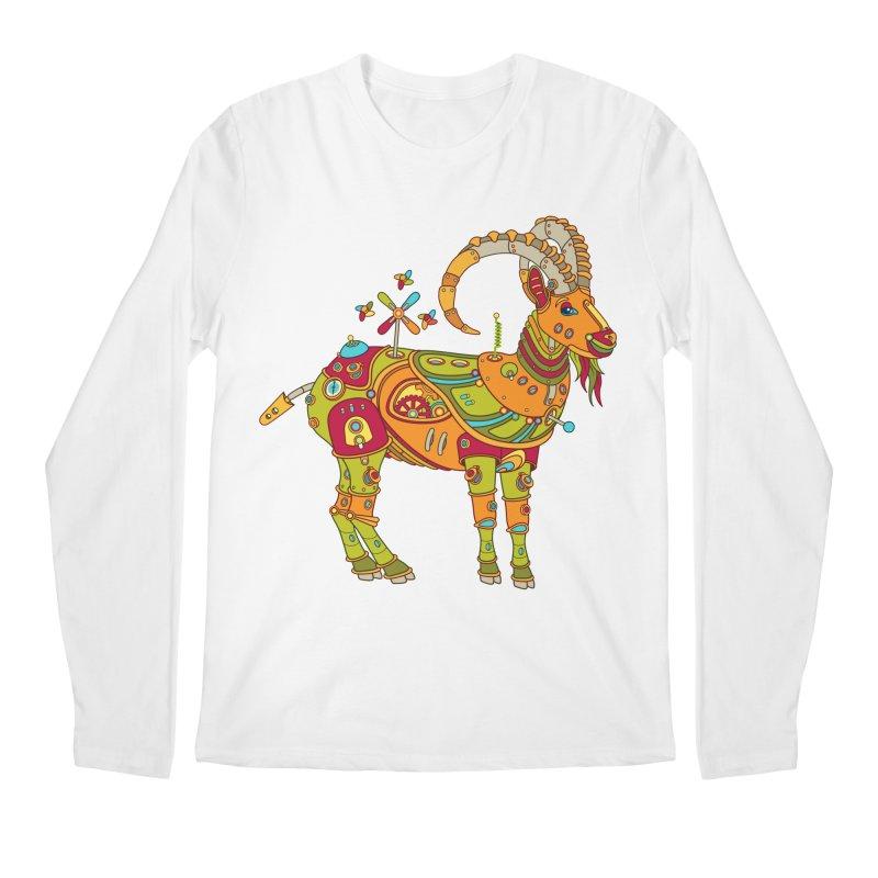 Ibex, cool art from the AlphaPod Collection Men's Regular Longsleeve T-Shirt by AlphaPod