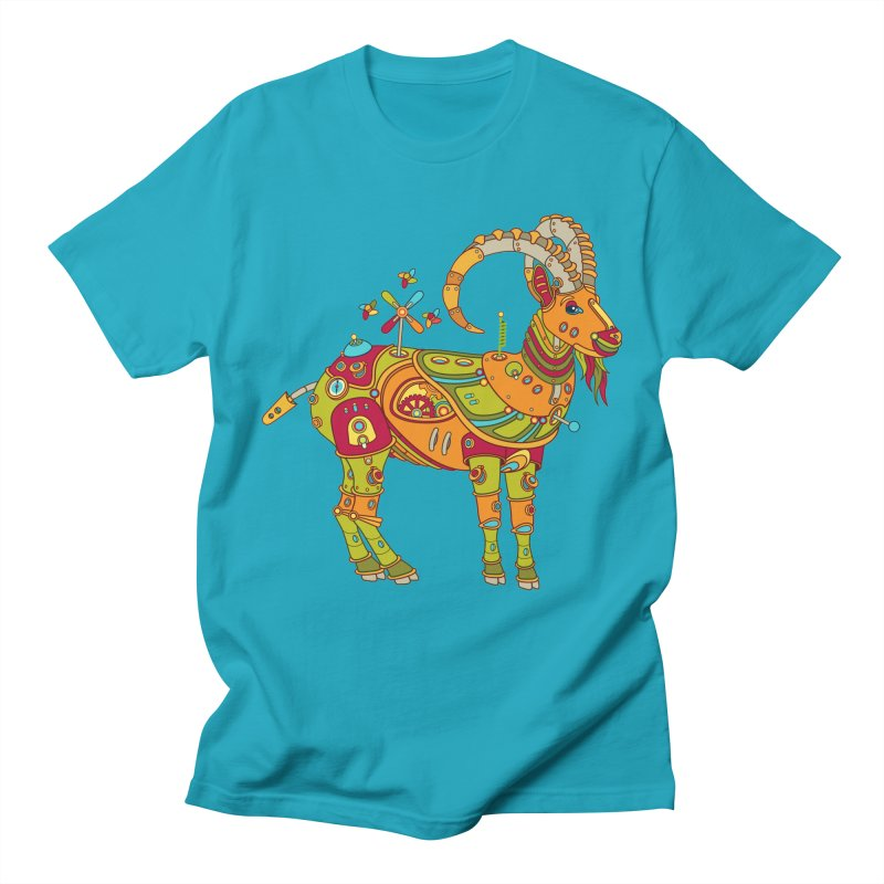 Ibex, cool art from the AlphaPod Collection Men's Regular T-Shirt by AlphaPod