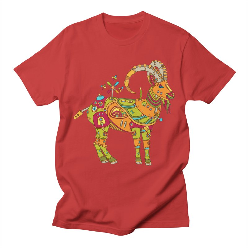 Ibex, cool art from the AlphaPod Collection Women's Regular Unisex T-Shirt by AlphaPod