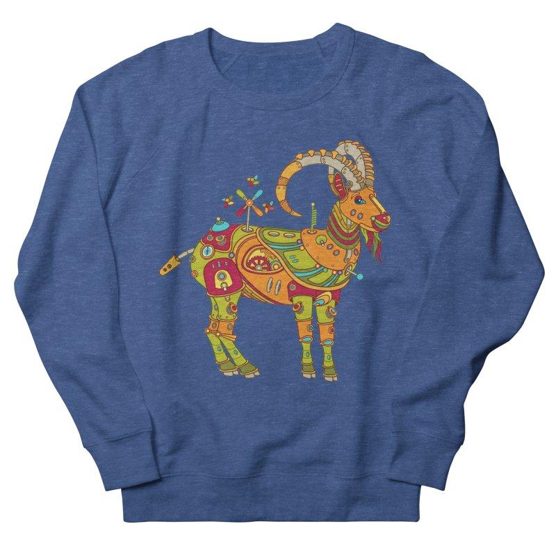Ibex, cool art from the AlphaPod Collection Women's Sweatshirt by AlphaPod