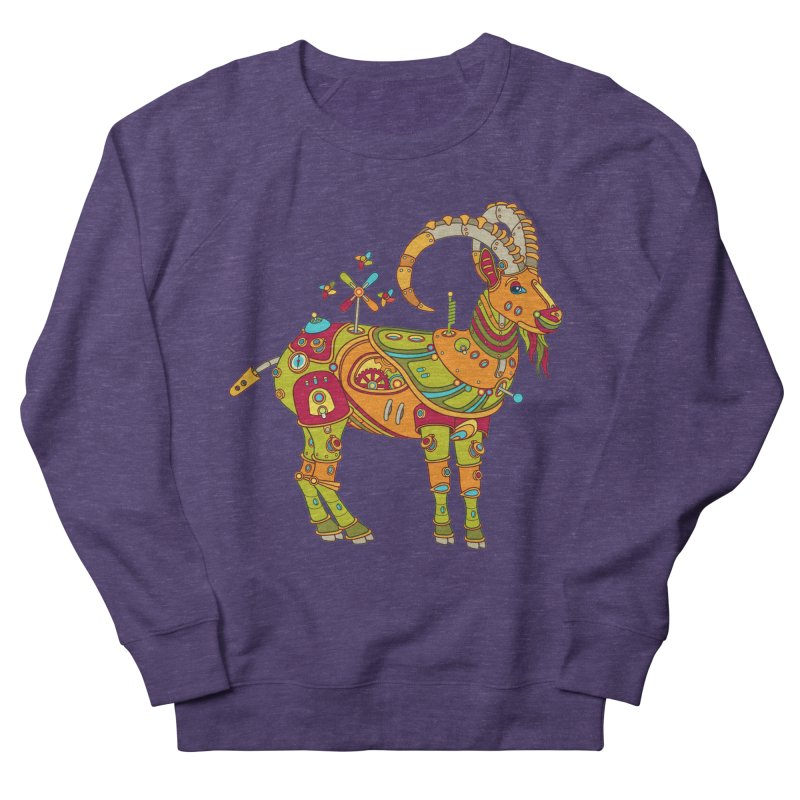 Ibex, cool art from the AlphaPod Collection Men's French Terry Sweatshirt by AlphaPod