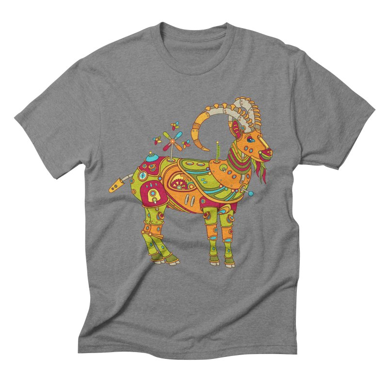 Ibex, cool art from the AlphaPod Collection Men's Triblend T-Shirt by AlphaPod