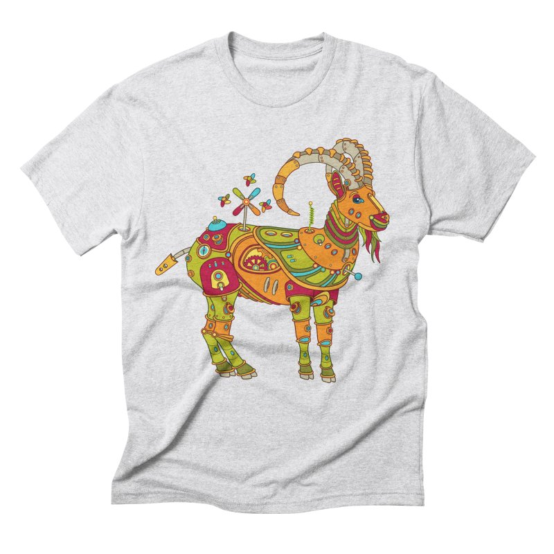 Ibex, cool wall art for kids and adults alike Men's Triblend T-shirt by AlphaPod