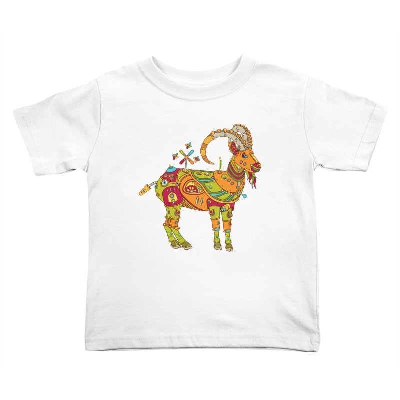 Ibex, cool wall art for kids and adults alike Kids Toddler T-Shirt by AlphaPod