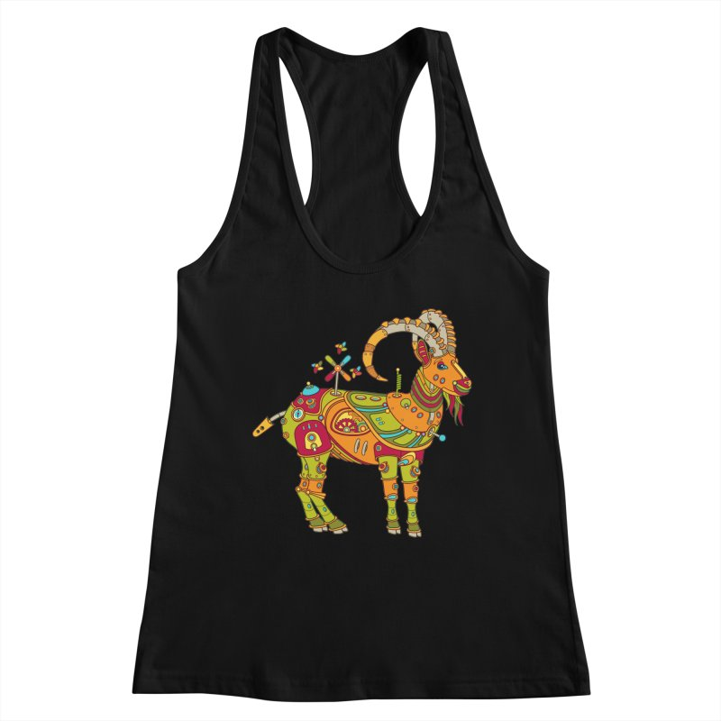 Ibex, cool art from the AlphaPod Collection Women's Tank by AlphaPod