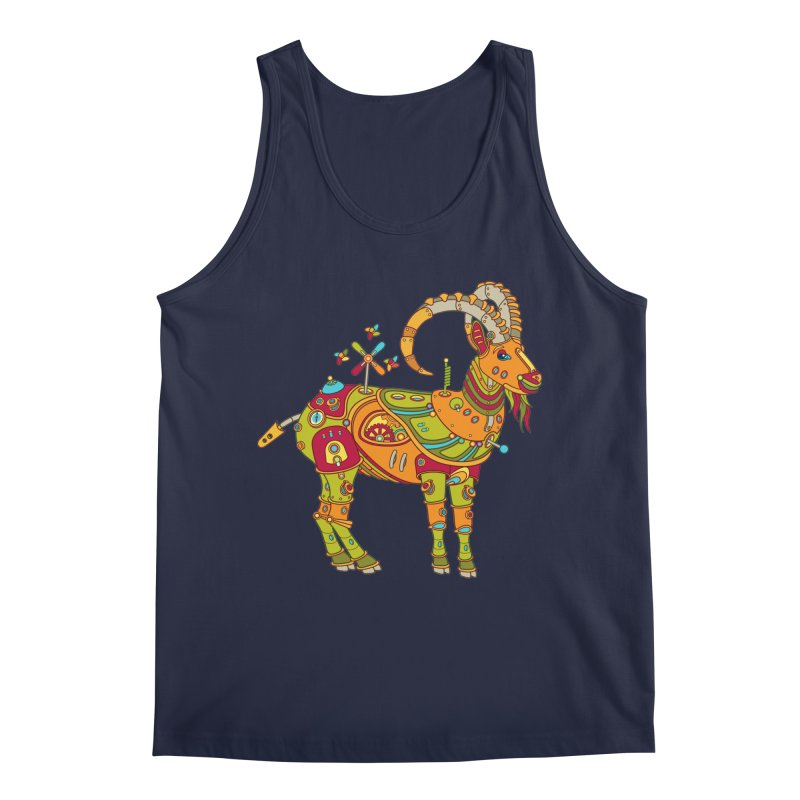 Ibex, cool art from the AlphaPod Collection Men's Tank by AlphaPod