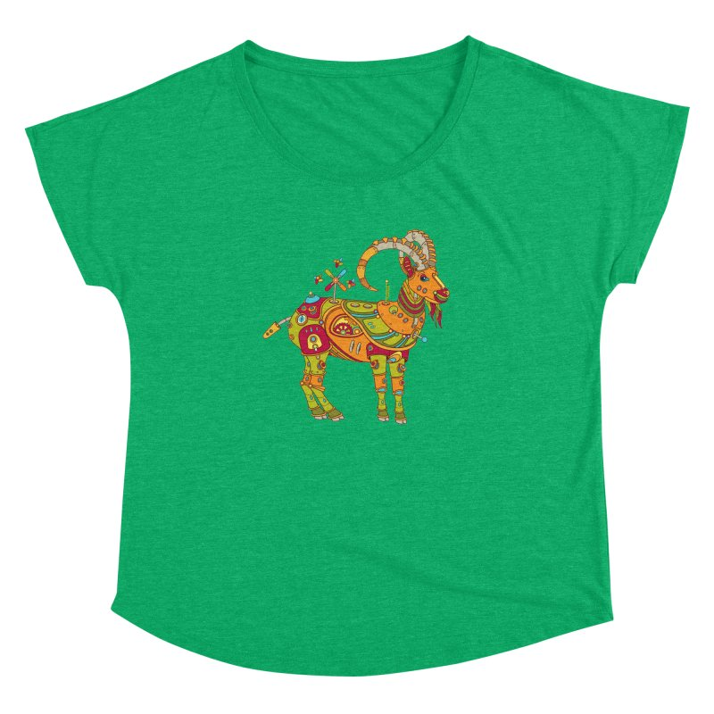 Ibex, cool wall art for kids and adults alike Women's Dolman by AlphaPod