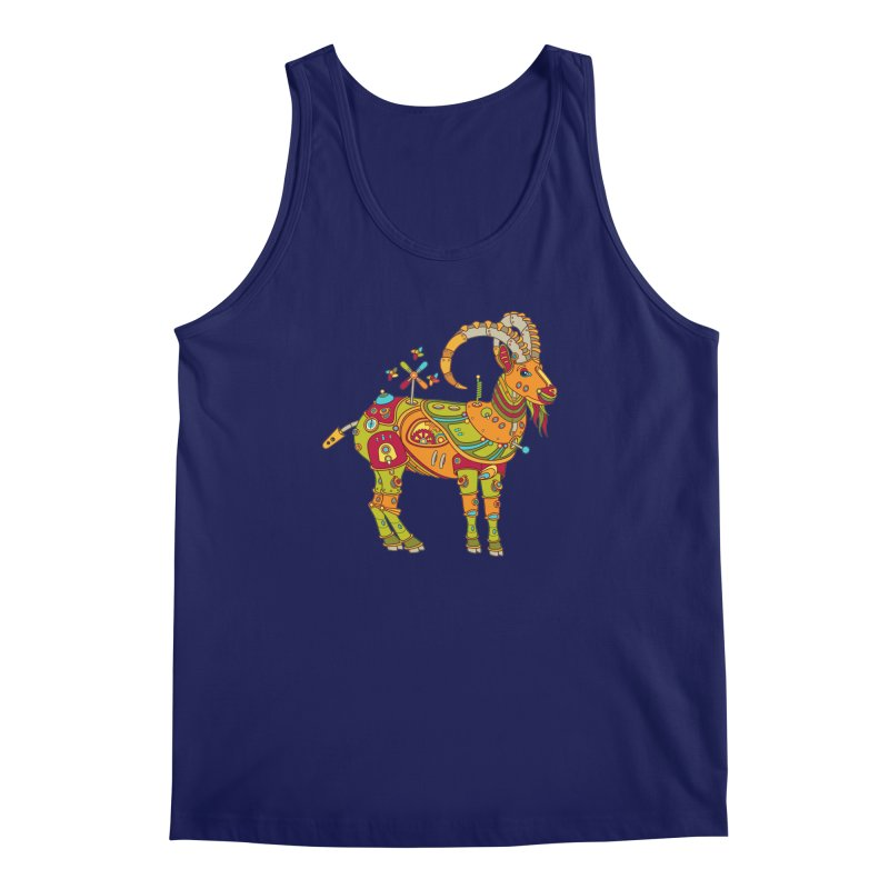 Ibex, cool art from the AlphaPod Collection Men's Regular Tank by AlphaPod