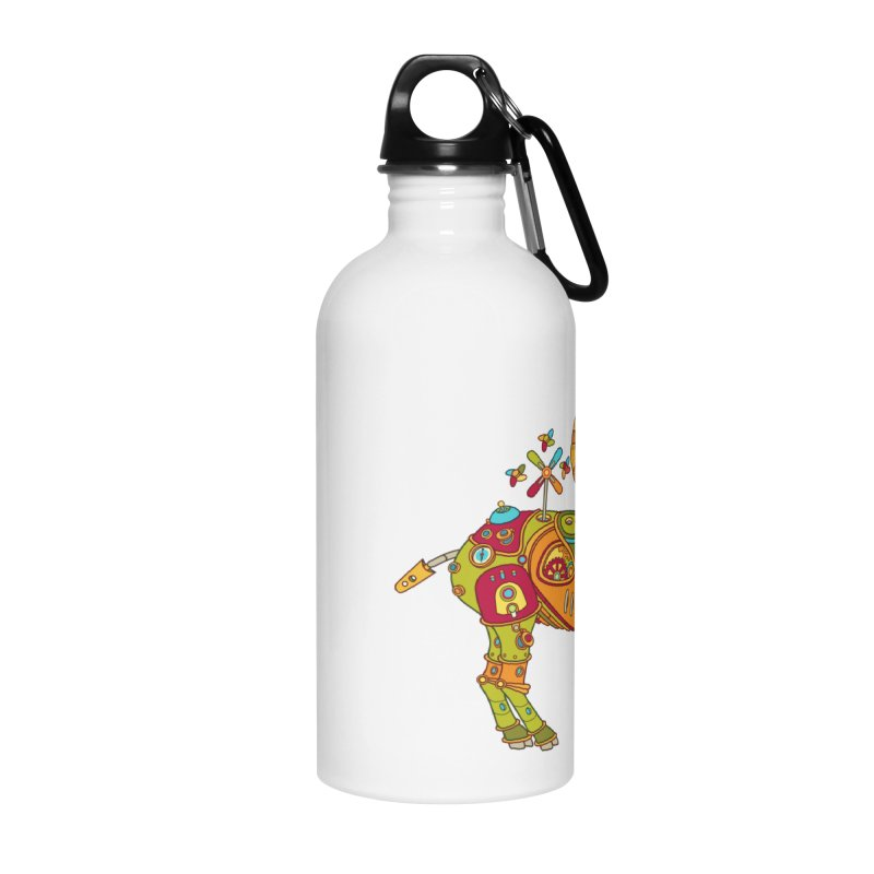 Ibex, cool art from the AlphaPod Collection Accessories Water Bottle by AlphaPod
