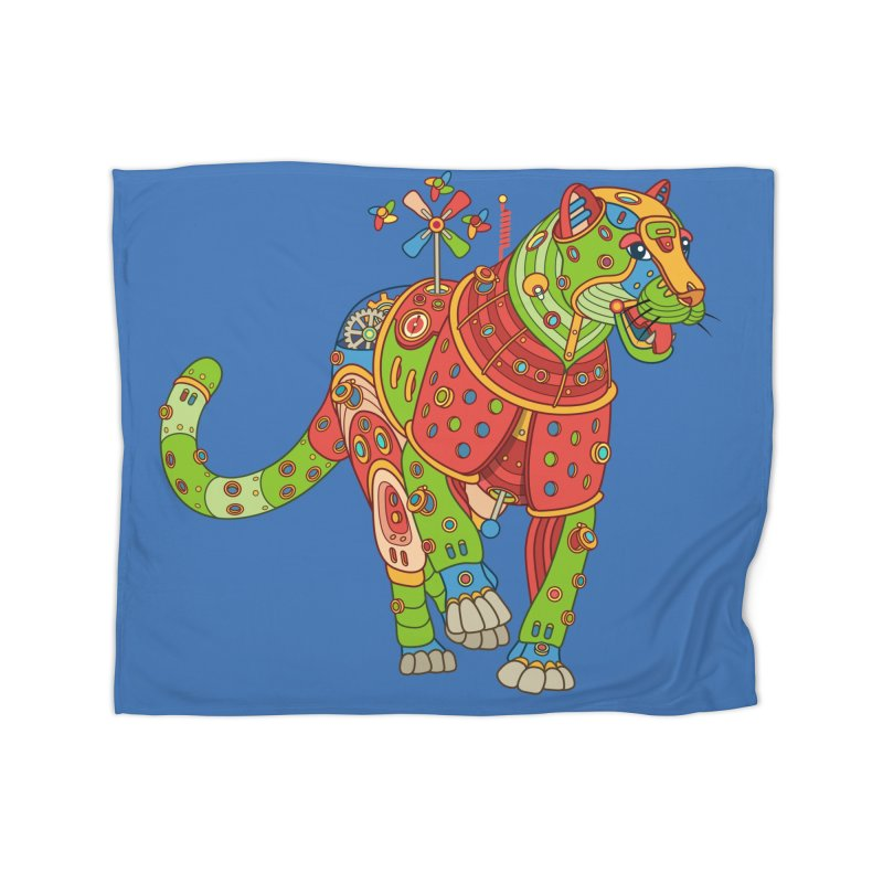 Jaguar, cool art from the AlphaPod Collection Home Blanket by AlphaPod