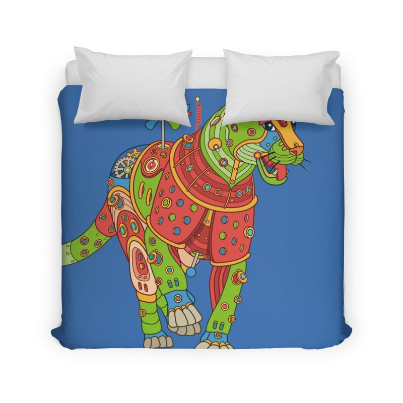 Jaguar, cool art from the AlphaPod Collection Home Duvet by AlphaPod