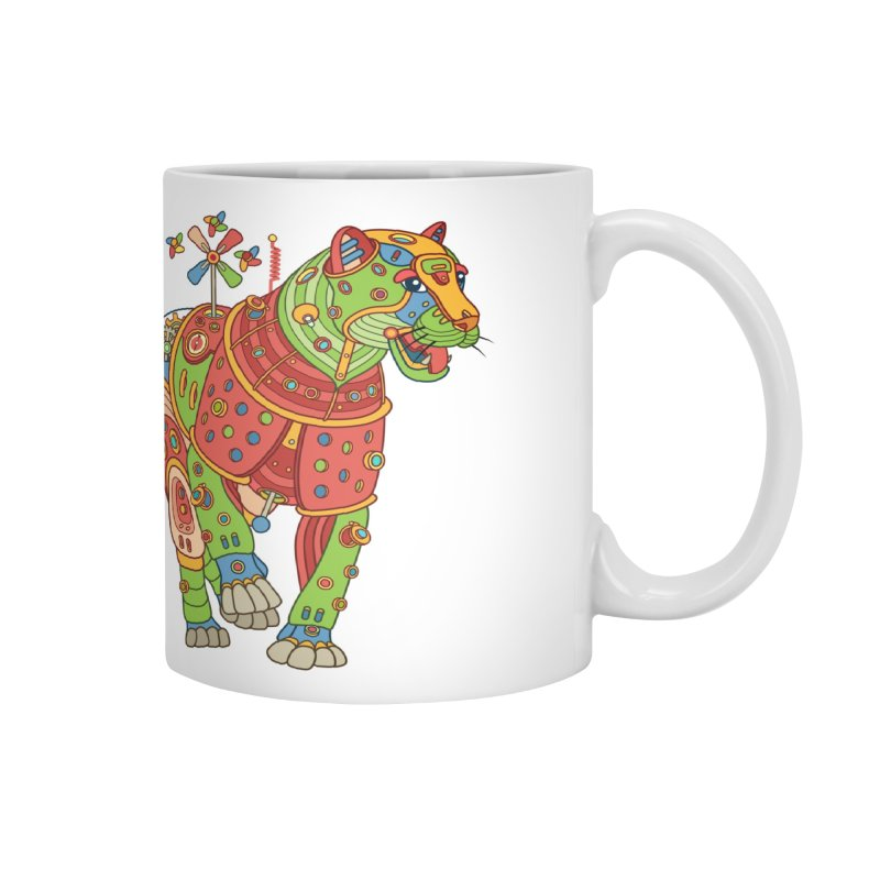 Jaguar, cool art from the AlphaPod Collection Accessories Mug by AlphaPod