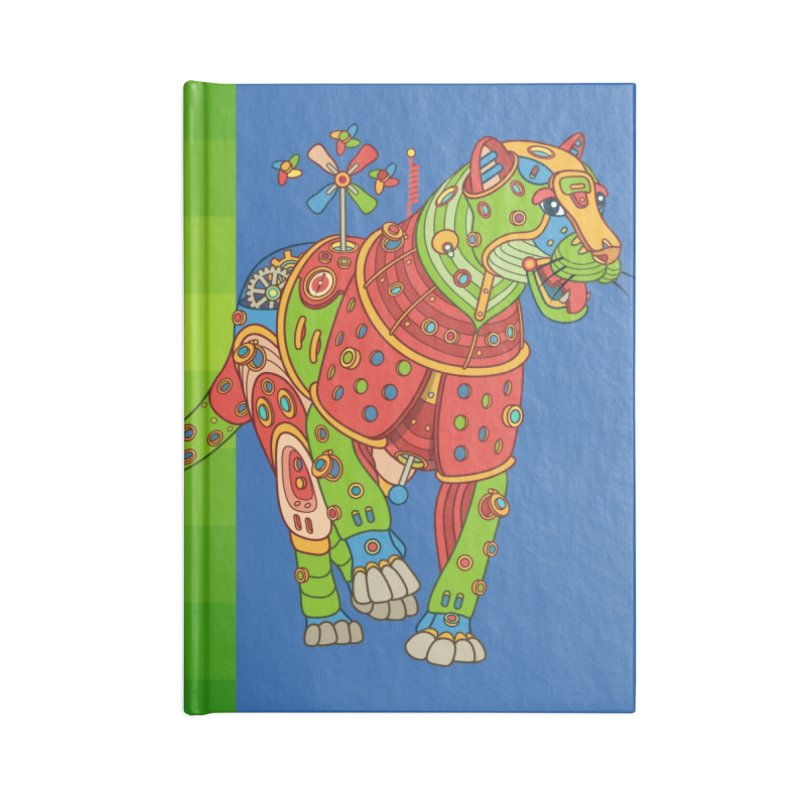 Jaguar, cool art from the AlphaPod Collection Accessories Notebook by AlphaPod