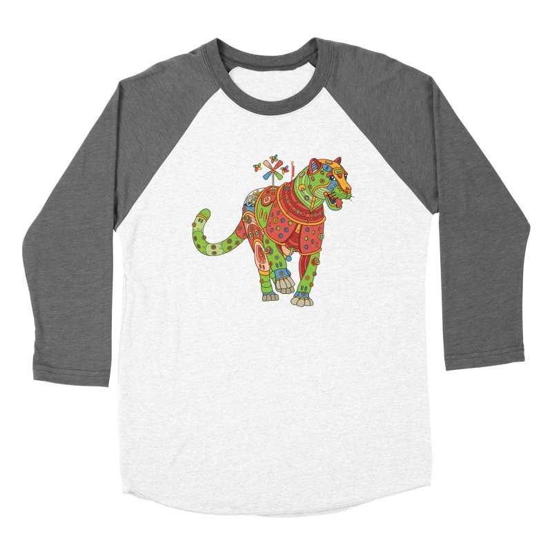 Jaguar, cool art from the AlphaPod Collection Women's Longsleeve T-Shirt by AlphaPod