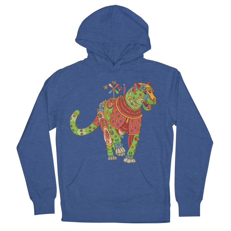 Jaguar, cool art from the AlphaPod Collection Women's French Terry Pullover Hoody by AlphaPod