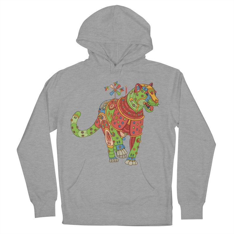Jaguar, cool wall art for kids and adults alike Women's Pullover Hoody by AlphaPod
