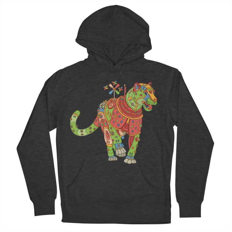 Jaguar, cool art from the AlphaPod Collection Men's French Terry Pullover Hoody by AlphaPod