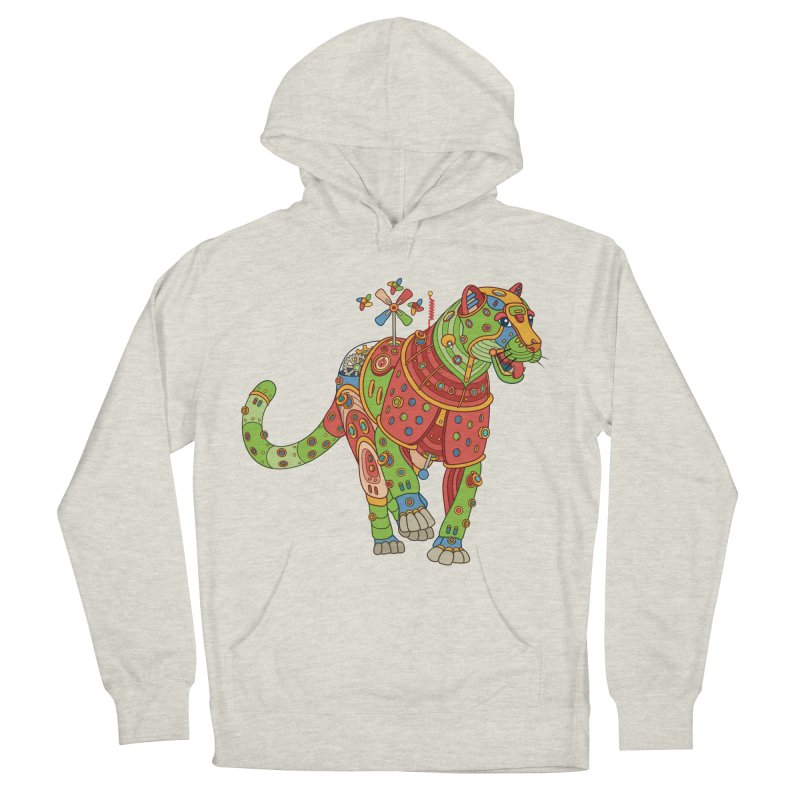 Jaguar, cool art from the AlphaPod Collection Men's Pullover Hoody by AlphaPod