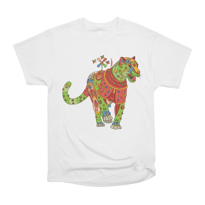 Jaguar, cool art from the AlphaPod Collection Men's Heavyweight T-Shirt by AlphaPod