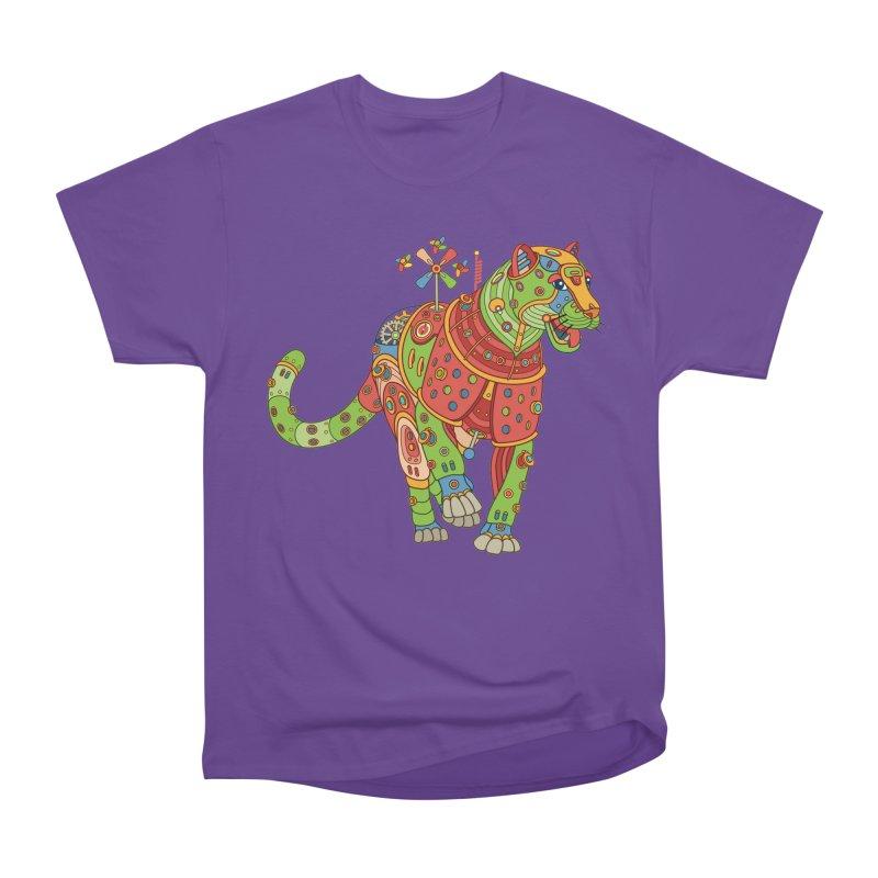 Jaguar, cool art from the AlphaPod Collection Men's Heavyweight T-Shirt by AlphaPod