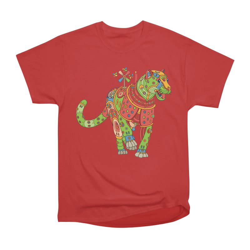 Jaguar, cool art from the AlphaPod Collection Women's Heavyweight Unisex T-Shirt by AlphaPod