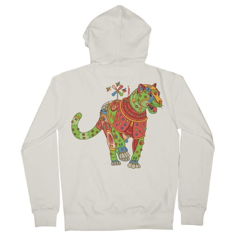 Jaguar, cool art from the AlphaPod Collection Men's French Terry Zip-Up Hoody by AlphaPod