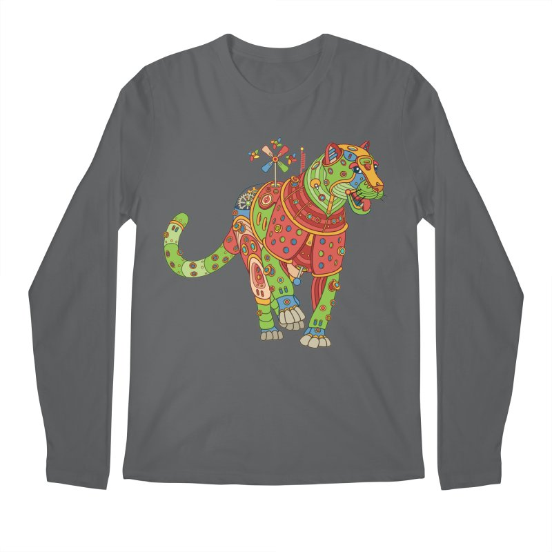 Jaguar, cool art from the AlphaPod Collection Men's Regular Longsleeve T-Shirt by AlphaPod