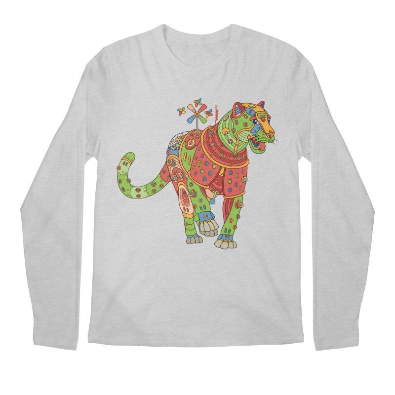 Jaguar, cool art from the AlphaPod Collection Men's Regular Longsleeve T-Shirt by AlphaPod