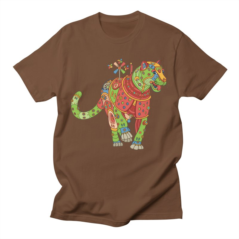 Jaguar, cool art from the AlphaPod Collection Men's Regular T-Shirt by AlphaPod