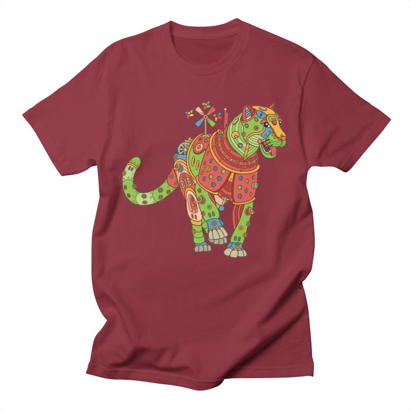 Jaguar, cool art from the AlphaPod Collection Men's T-Shirt by AlphaPod