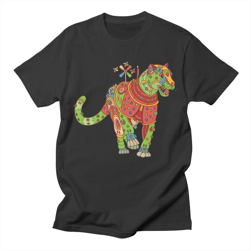 Jaguar, cool art from the AlphaPod Collection Men's T-Shirt by AlphaPod