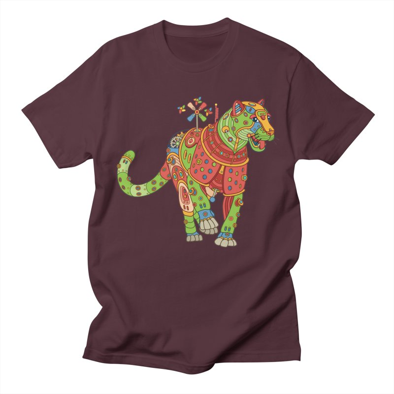 Jaguar, cool wall art for kids and adults alike Women's Unisex T-Shirt by AlphaPod
