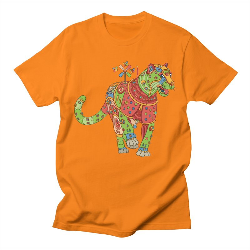 Jaguar, cool art from the AlphaPod Collection Women's Regular Unisex T-Shirt by AlphaPod