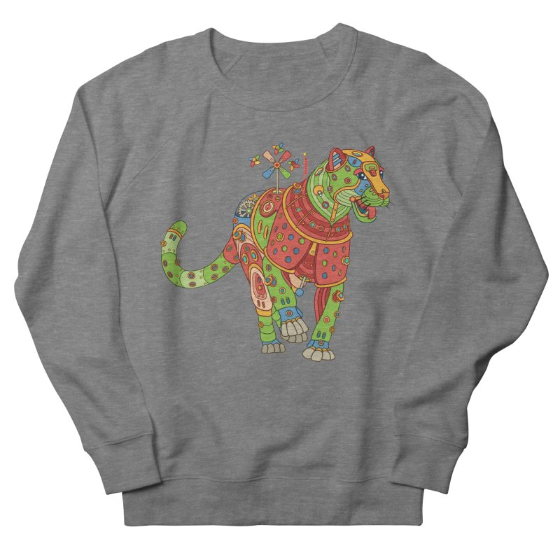Jaguar, cool art from the AlphaPod Collection Women's Sweatshirt by AlphaPod