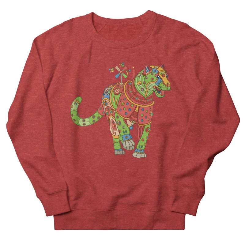 Jaguar, cool art from the AlphaPod Collection Women's French Terry Sweatshirt by AlphaPod