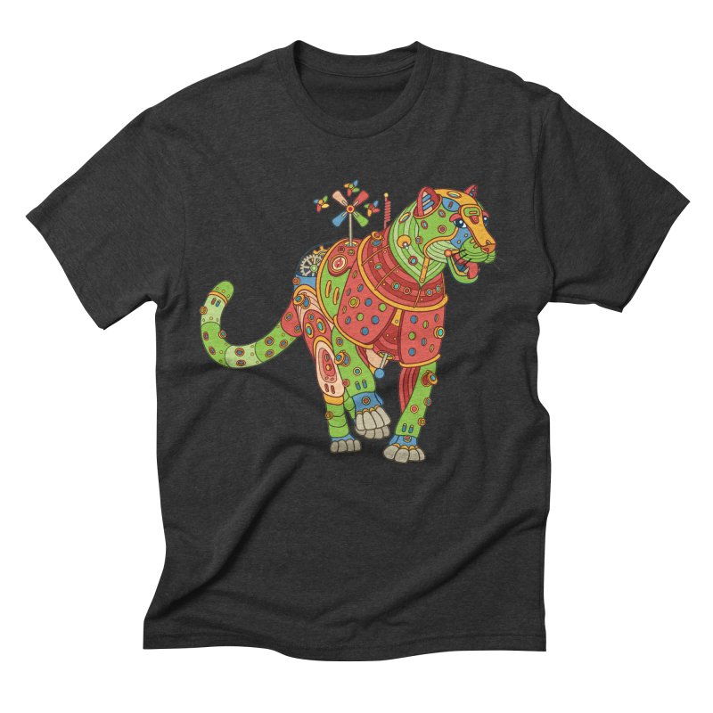 Jaguar, cool wall art for kids and adults alike Men's Triblend T-shirt by AlphaPod